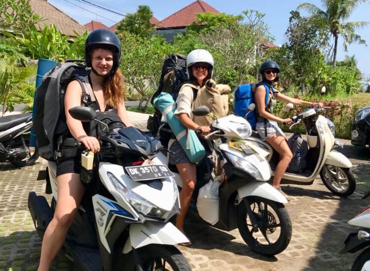 Roller mieten in Bali