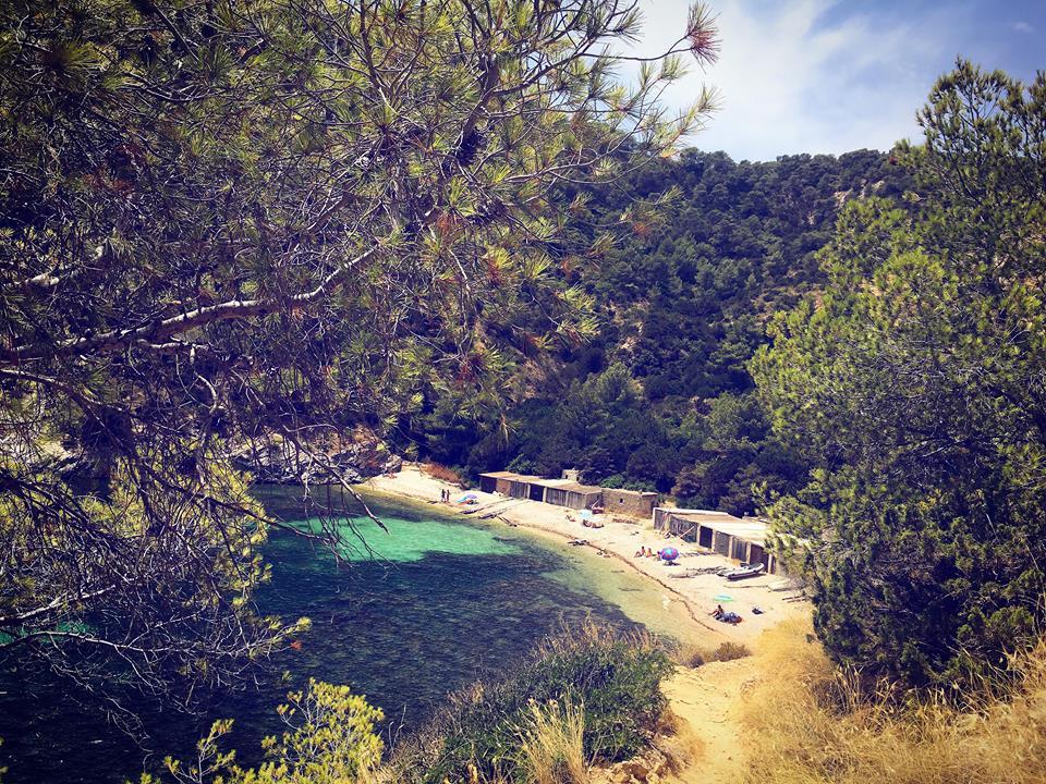 Cala Llentrisca Ibiza Beach