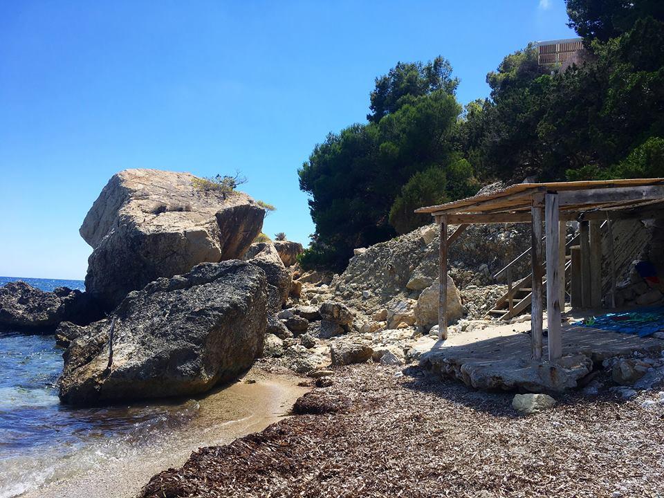 Secret Beach Ibiza Es Niu d´es Aguila