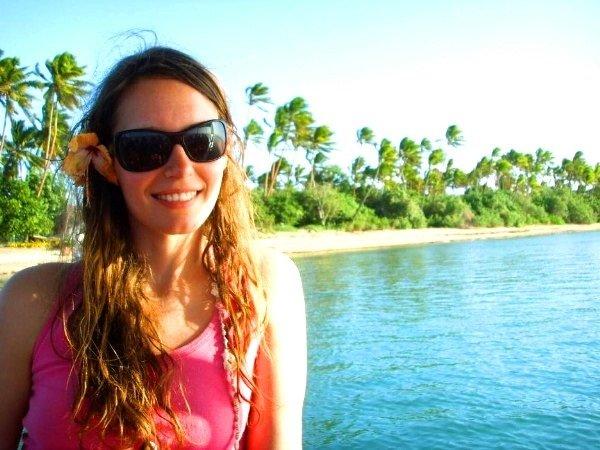 40 Anja auf Robinson Crusoe