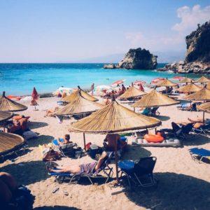 Albanische-Riviera-Strand