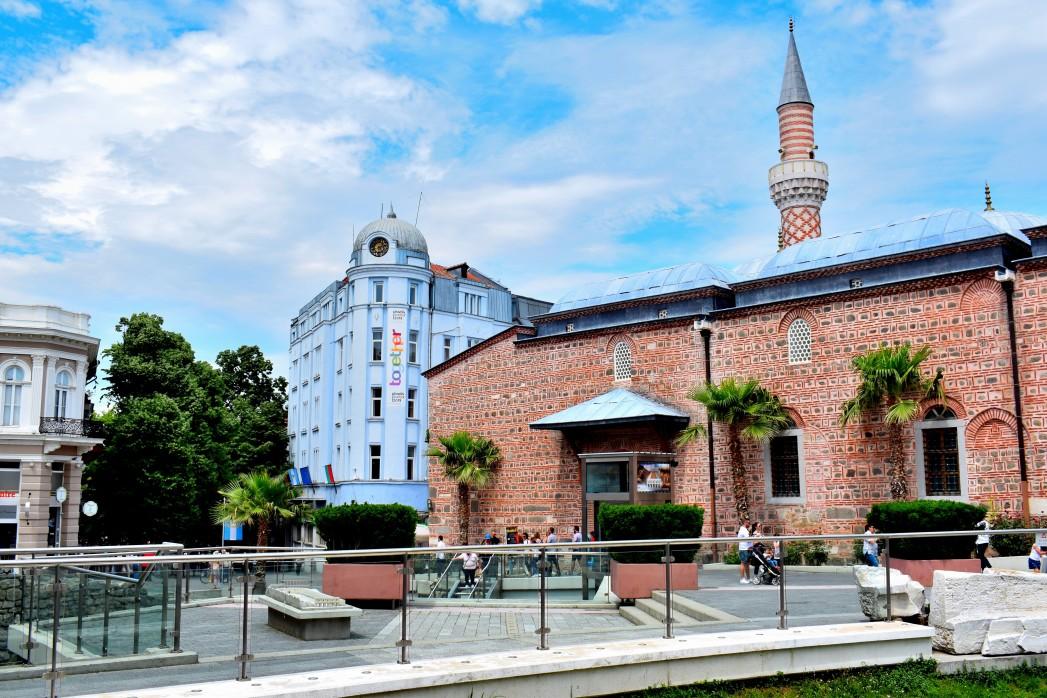 Dzhumaya Moschee im Zentrum von Plovdiv