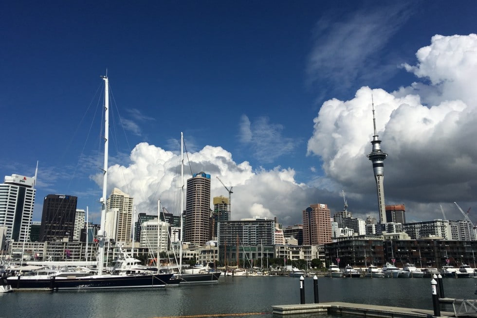 Als Backpacker in Auckland, Neuseeland