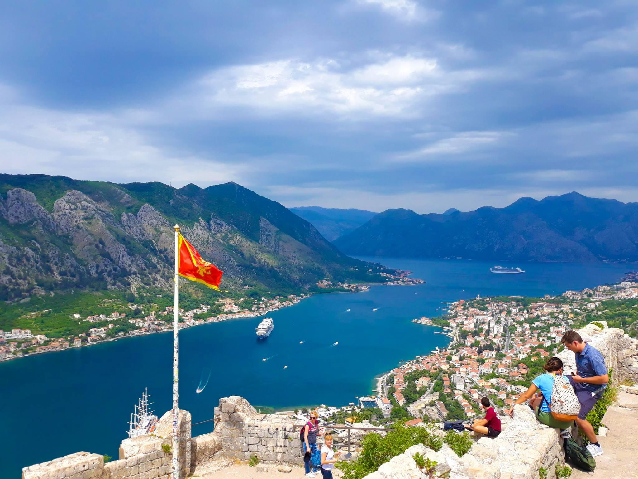 Die atemberaubende Bucht von Kotor