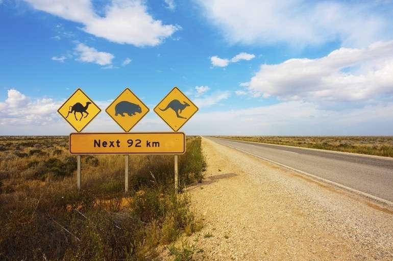 Die Weiten des australischen Kontinents entdecken