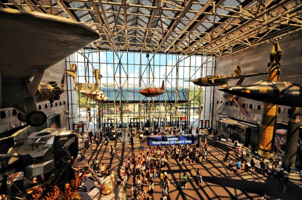 Das Nationale Luft- und Raumfahrtmuseum_Washington DC