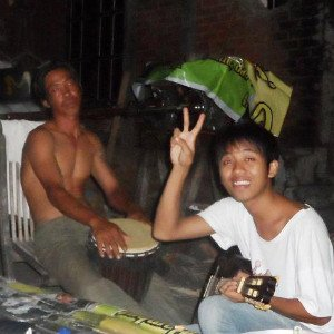 Backpacking-Indonesien-Gitarre