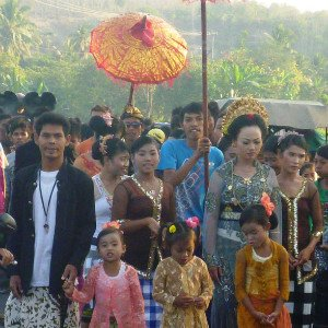 Backpacking-Indonesien-Hochzeit