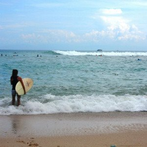 Backpacking-Indonesien-Surfkurs