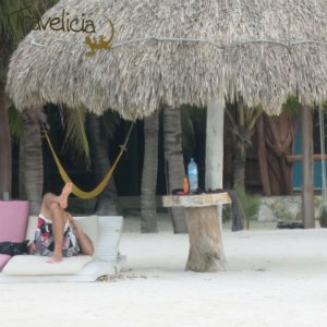 Backpacking Mexiko - Relaxing Isla Holbox