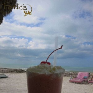 Backpacking Mexiko - Shake isla Holbox