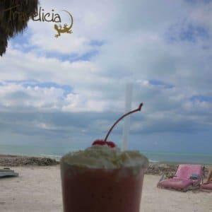 Backpacking Mexiko - Shake isla Holbox