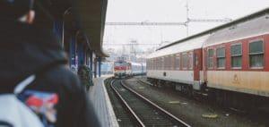 Mit Bahn nach Prag