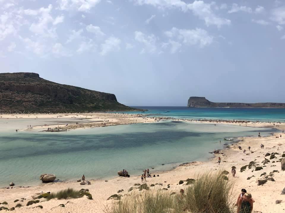 Wunderschöne Landschaft auf Balos, Griechischer Insel