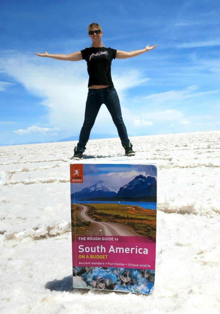 Barbara steht auf Südamerika