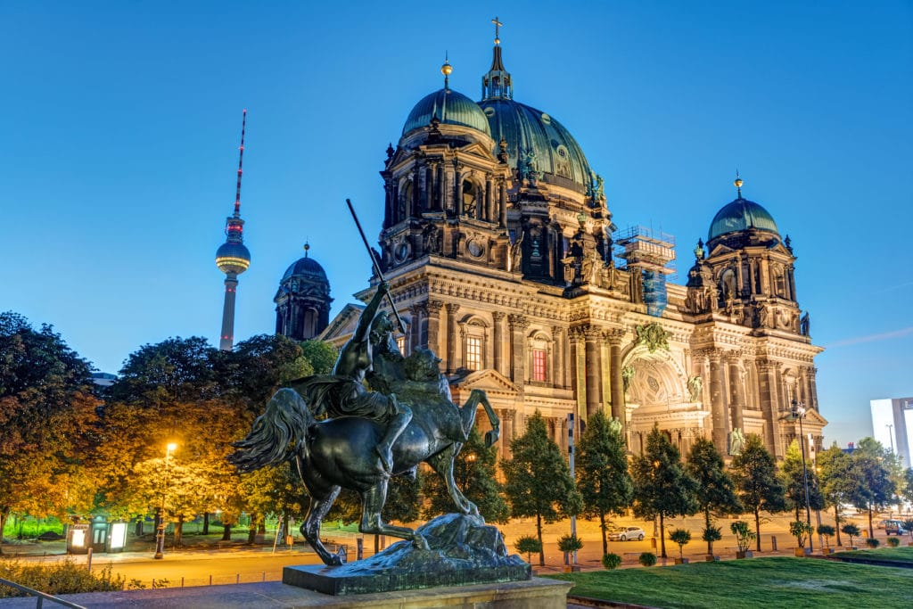 Berlin, die Hauptstadt der Bundesrepublik Deutschland