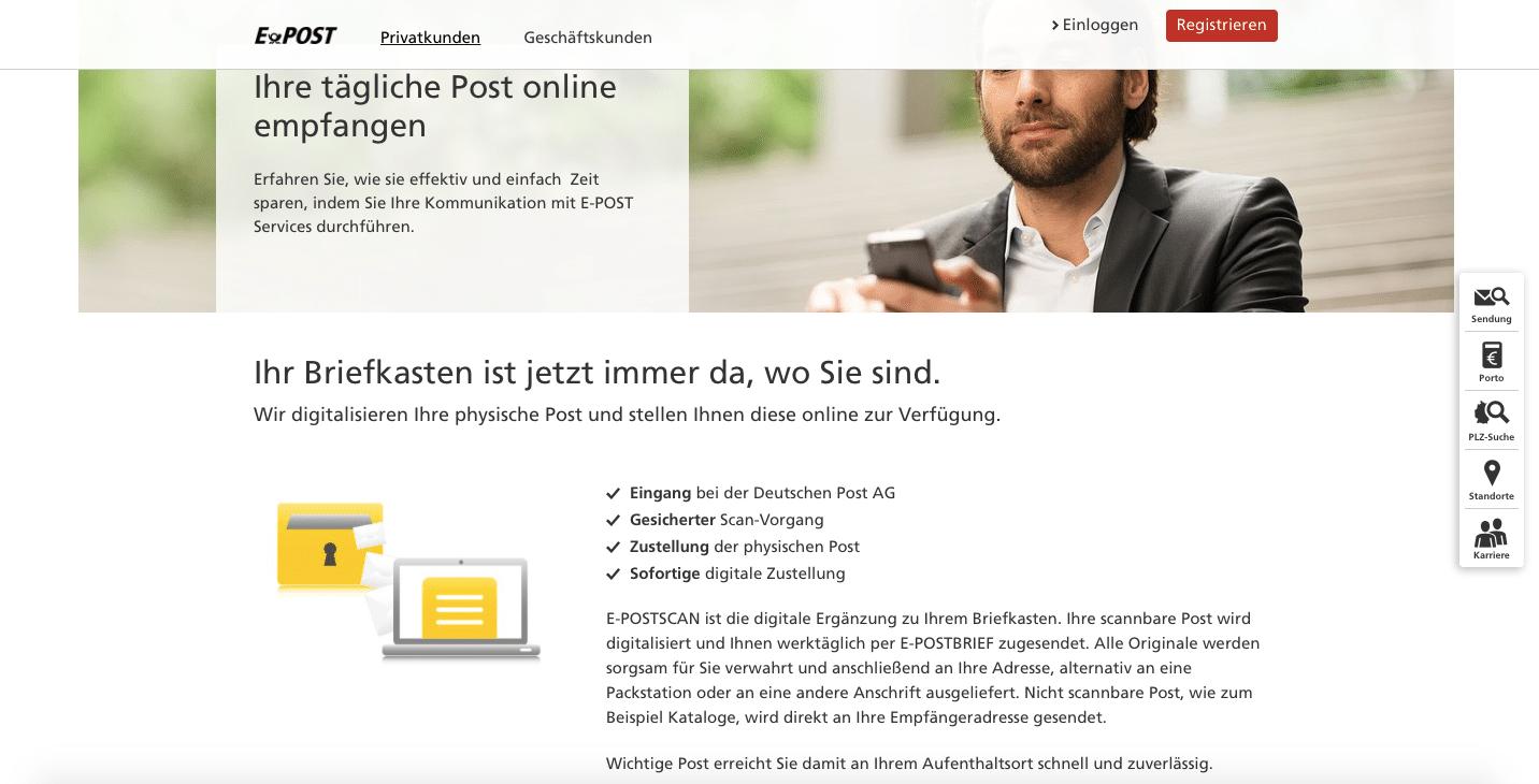 ePOST-Scan