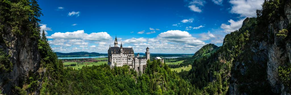 Die chönsten Burgen und Schlösser in Deutschland