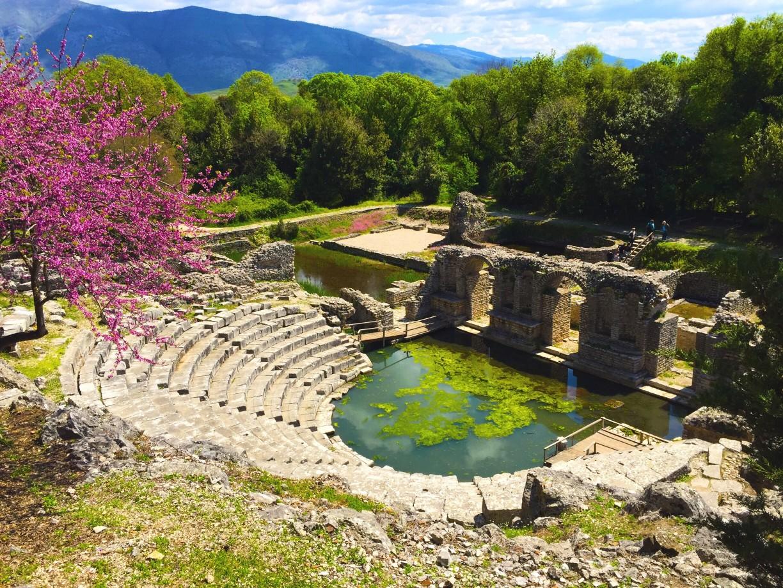 Nationalparks Butrint in Ksamil, Albanien