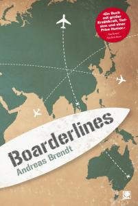 """Buchcover zu """"Boarderlines"""" von Andreas Brendt"""