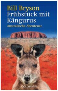"""Cover vom Buch """"Frühstück mit Kängurus: Australische Abenteuer"""" von Bill Bryson"""