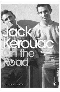 "Cover des Buches ""On the Road"" von Jack Kerouac"