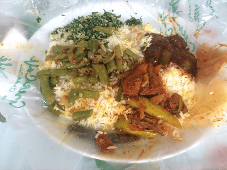Curry in Sri Lanka