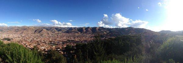 Cusco Aussicht