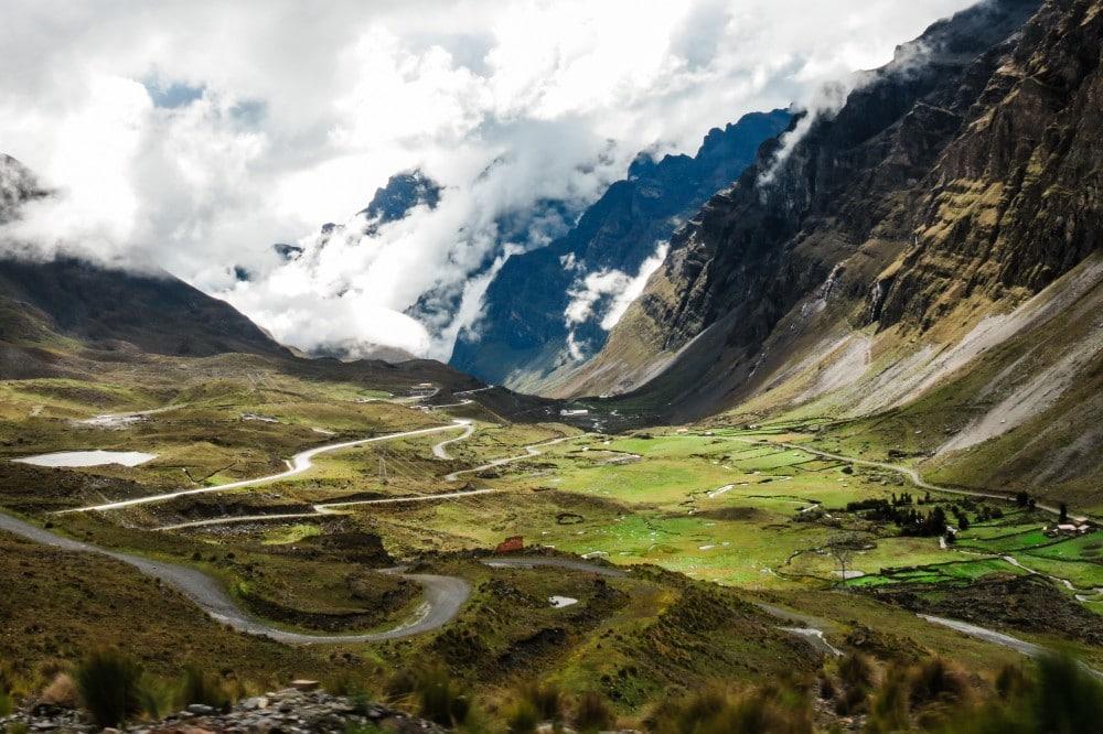 Auf dem Weg nach Death Road, Bolivien