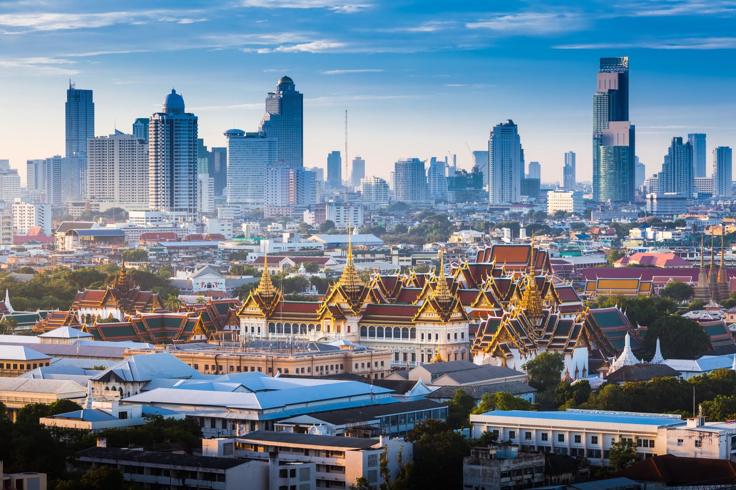 Der Größe Palast in Bangkok, Zentralthailand