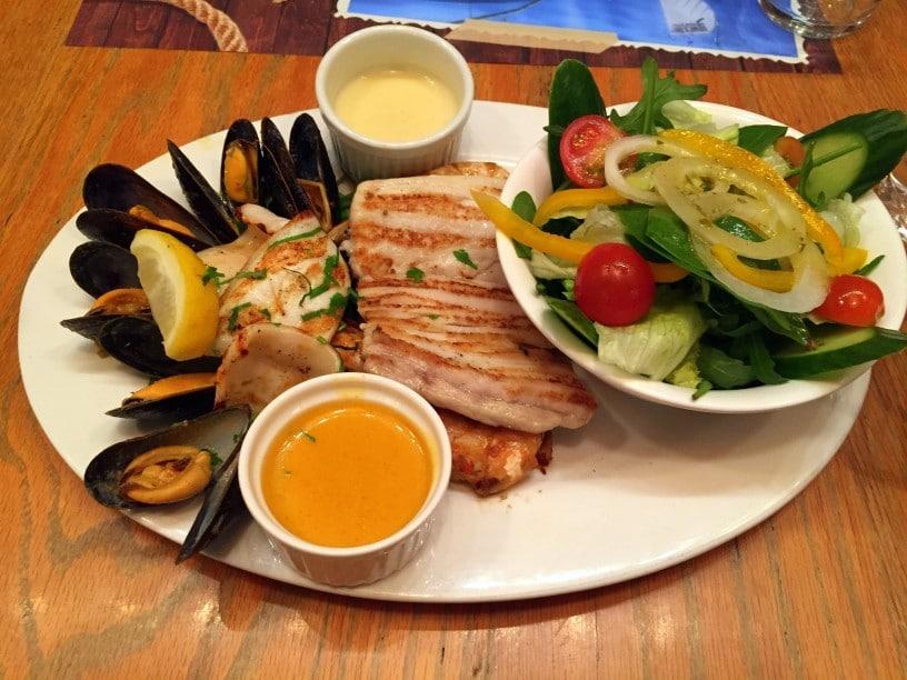 Typische Küche in Dubai- Fisch und Meeresfrüchte