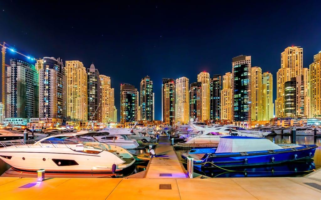 Dubai Marina , Vereinigte Arabische Emirates