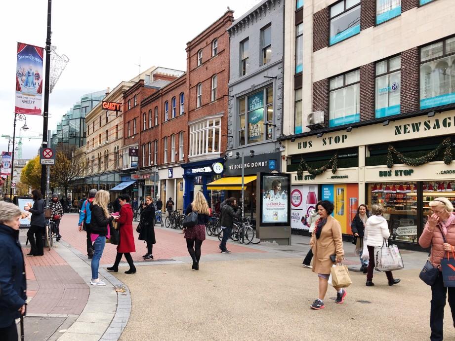 Sicherheit in Dublin, Irland