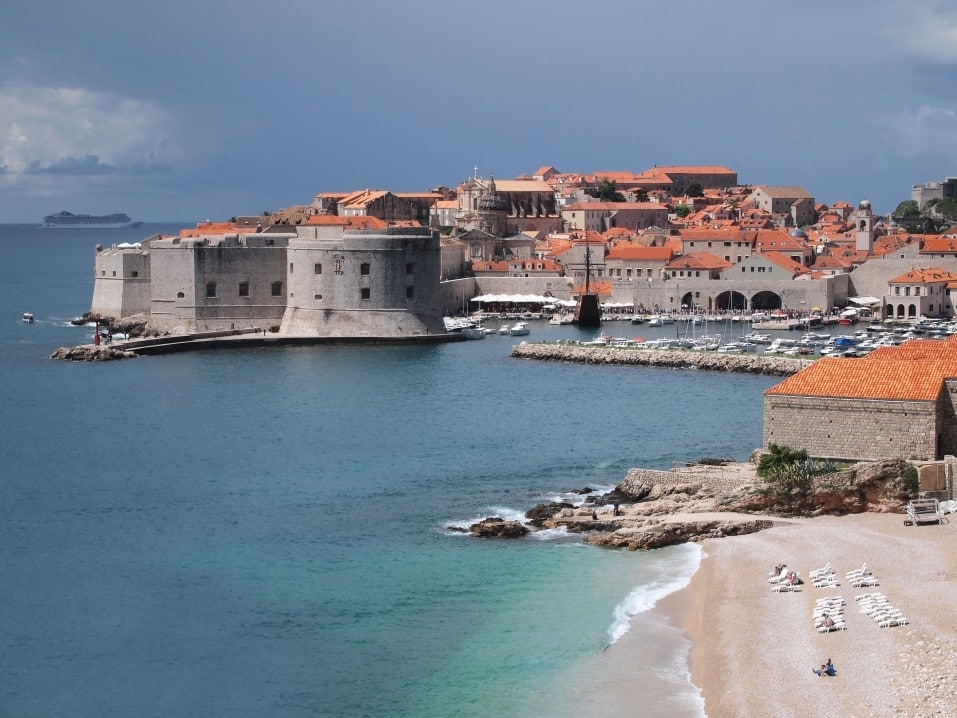 Backpacking in Dubrovnik