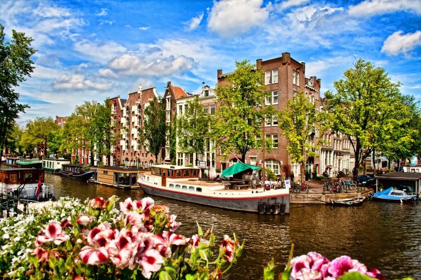 Einreise in Niederlande, Amsterdam