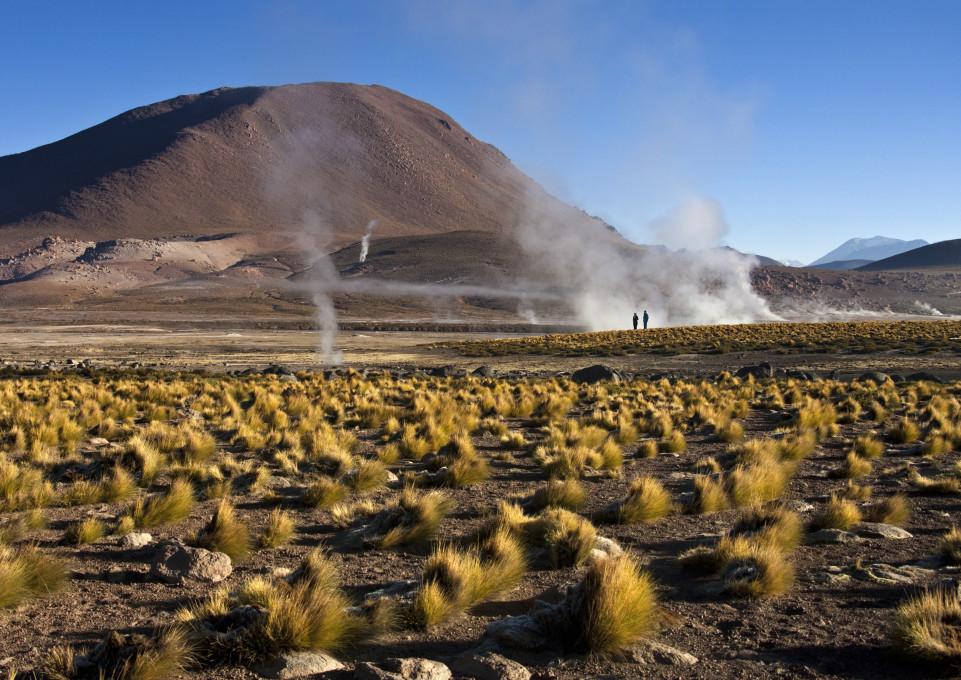 El Tatio Vulkankrater