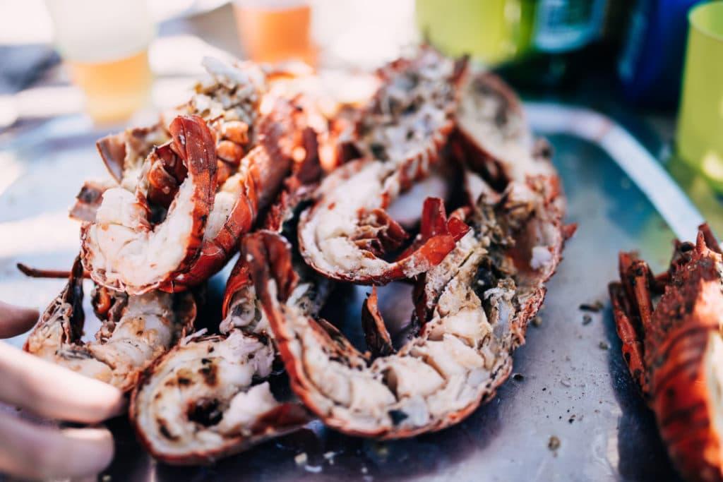 Typische Küche Tasmanien, Hummer