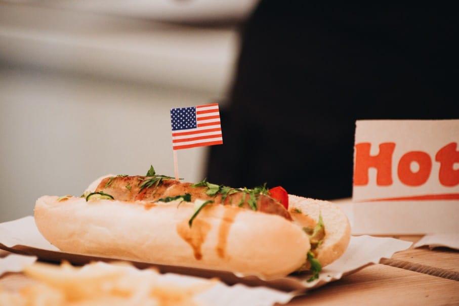 Typische Küche für Backpackers in Amerika