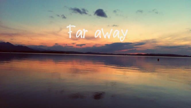 Far away_Backpacking