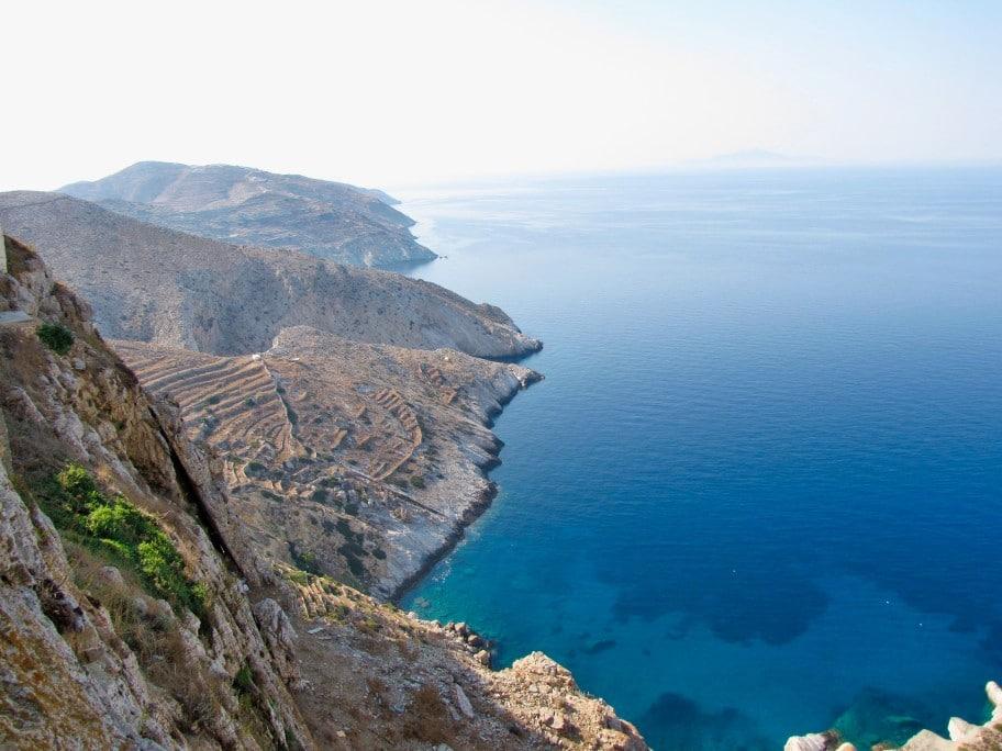 Die Insel Folegandros, Griechenland