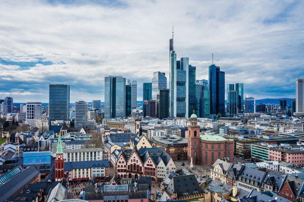 Frankfurt am Main, Hessen-die fünftgrößte Deutschlands Stadt