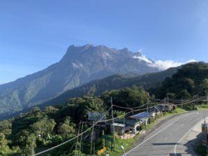 Gebirge Kinabalu