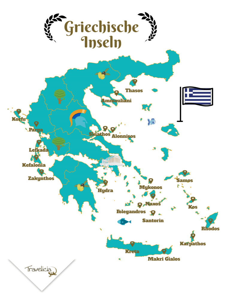 Top 20 schönste griechische Islands