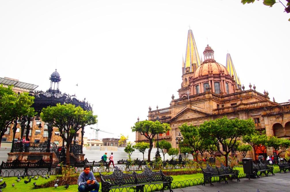 Die Kathedrale Guadalajara, Mexiko
