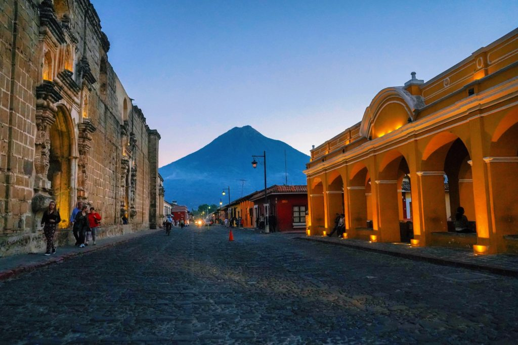 Backpacking in Guatemala City