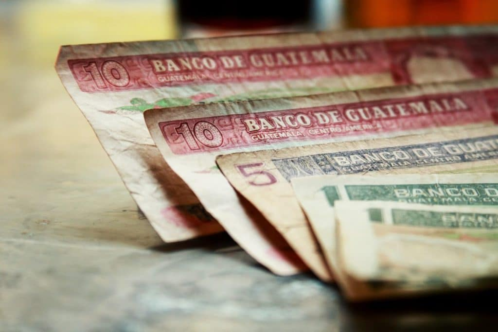Währung in Guatemala