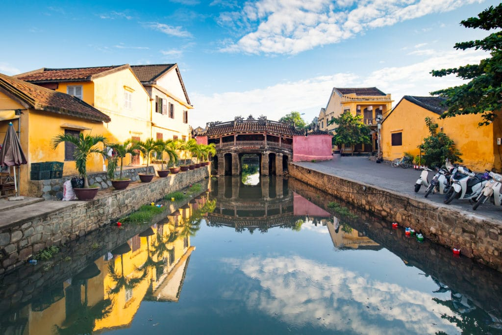 Brücke Hội An, Vietnam