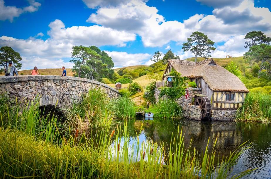 Besuch in Hobbiton, Neuseeland