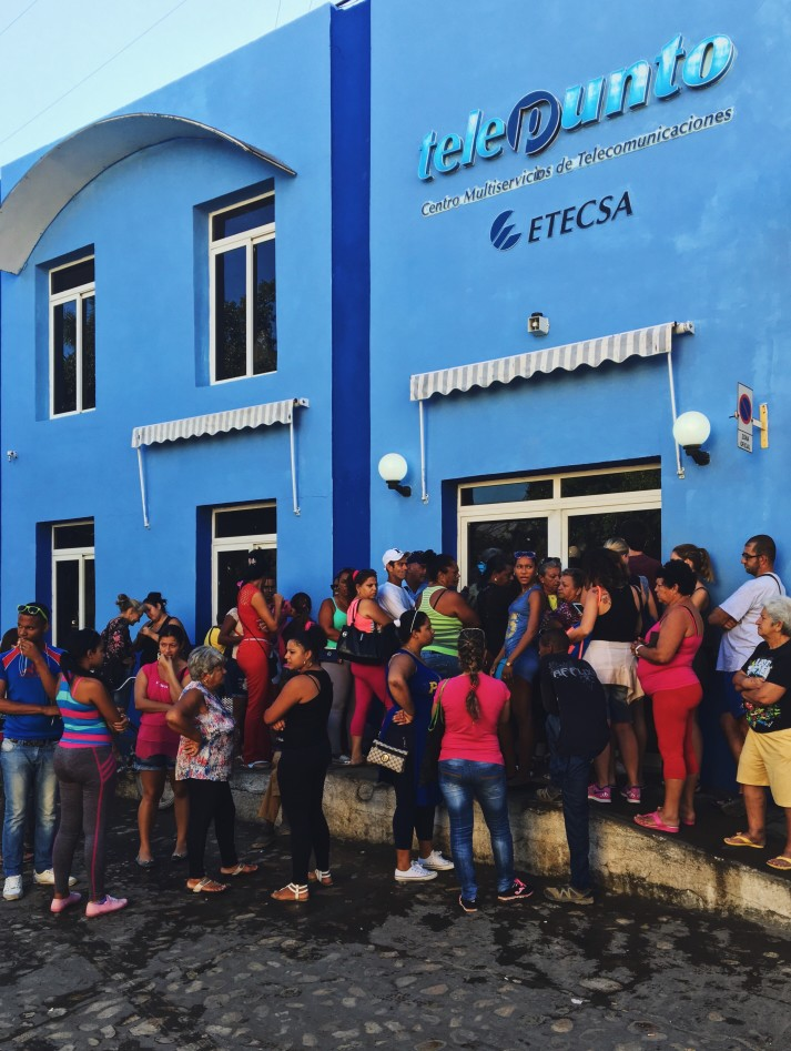 Internet für Backpackers in Kuba