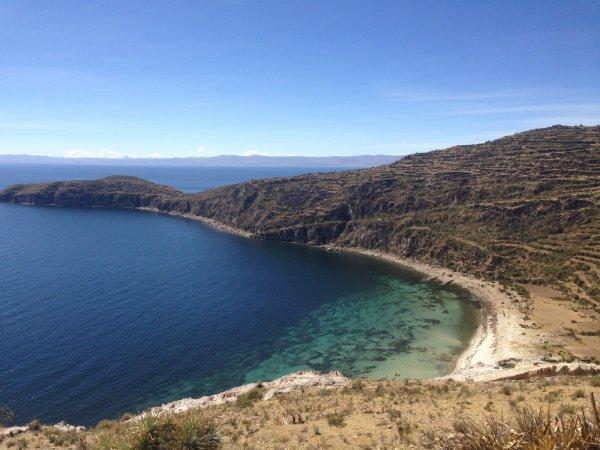 Isla del Sol Bucht